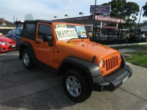 2012 Jeep Wrangler JK MY12 Sport (4x4) 6 Speed Manual Softtop New Lambton Newcastle Area Preview