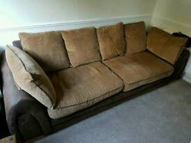 Lovely large comfy sofa