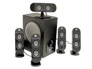 X   Logitech X-530 70W 5.1Rms Speaker System   5.1-channel