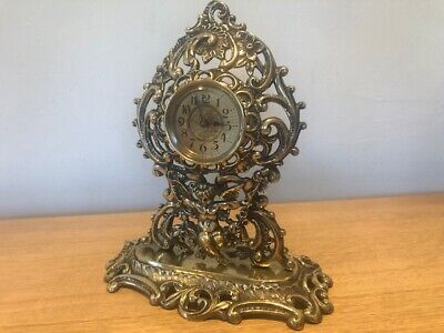 Antique Mantel Clock By The British United Clock Company Birmingham