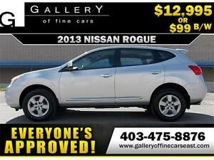 2013 Nissan Rogue S $99 BI-WEEKLY APPLY NOW DRIVE NOW