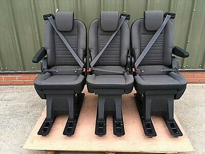 FORD TRANSIT CUSTOM SEATS - New with Armrests - Low Price - OEM