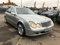 2005 Mercedes E Class 3.0 E280 TD CDI Avantgarde, AUTOMATIC, FULL LEATHER SEATS