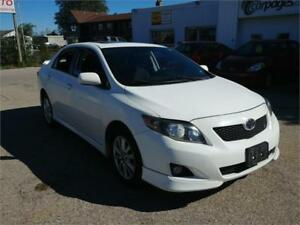 2009 Toyota Corolla S | Sunroof | One Owner | Warranty  | Saftey