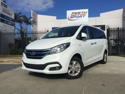 2018 LDV G10 SV7A (9 Seat) White 6 Speed Automatic Wagon