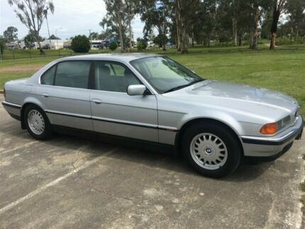 1995 BMW 730iL E38 Silver 5 Speed Automatic Sedan