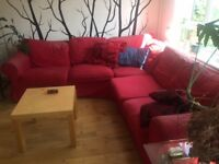 Ikea Ektorp Corner Sofa (couch) 3x2