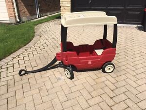 2 step Canopy Wagon low miles
