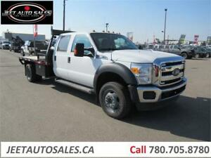 2015 Ford Super Duty F-450 DRW XLT Crew Cab with 12 FT Bed