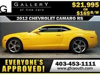 2012 CHEVROLET CAMARO RS *EVERYONE APPROVED* $0 DOWN $169/BW!