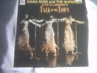 Vinyl LP Diana Ross And The Supremes At Talk Of The Town Tamla Motown TML 11070 Mono 1968