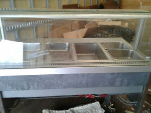 DELI COUNTER HOT TRAY ×6 PLZ CONTACT ASAP
