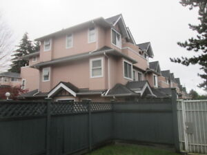 3 BR Townhouse in Burnaby East for Rent