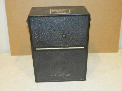 Vintage General Electric Ac Volts Meter Model 8 Ap 9v Ba11 Type Ap-9 Vgc As Is