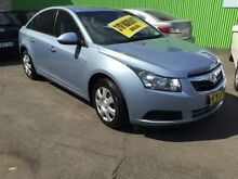 2009 Holden Cruze JG CD Silver 6 Speed Auto Sports Mode Sedan Lidcombe Auburn Area Preview