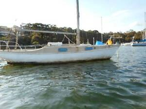 Hood 23ft  free or offer fiberglass yacht Lane Cove Lane Cove Area Preview