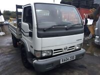2004 Nissan Cabstar diesel, starts and drives well, does export, MOT until 19th January, located in