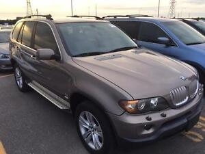 2004 BMW X5 4.4i-PANO ROOF- EASY FINANCING-- LOW PMTS--CERTIFIED