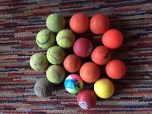 Hockey & Tennis Ball Lot