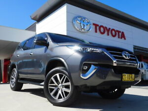 2019 Toyota Fortuner GUN156R MY19 Crusade Grey 6 Speed Automatic Wagon Greenway Tuggeranong Preview