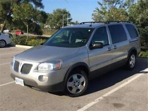 2008 PONTIAC MONTANA SV6 EXTENDED, TV & DVD,INCREDIBLE CONDITION