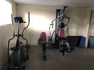 Complete home gym for sale!!