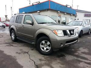2005 Nissan Pathfinder SE 4X4 7 PASSAGERS / MAGS / A/C