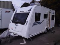 2016 Elddis Xplore 435 Double Dinette 5 Berth LIGHTWEIGHT Touring Caravan.