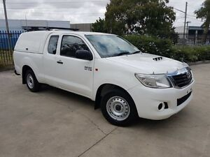 2012 Toyota Hilux KUN16R MY12 SR 5 Speed Manual Moorebank Liverpool Area Preview
