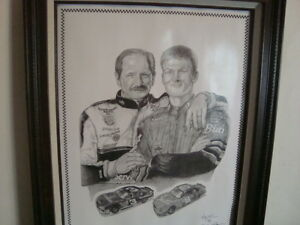 Dale Sr and Jr print Cambridge Kitchener Area image 3