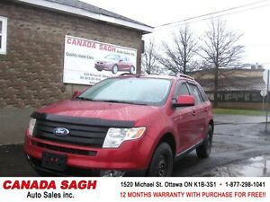 2007 Ford Edge LOADED 143km CLEAN , 12M.WRTY+SAFETY $6900