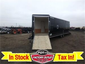 8.5 x 28 SNOWBIRD -*INSULATED*- Sled Trailer ~ TAX INCLUDED!!