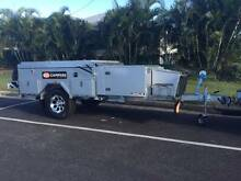 SUV Traveller Deluxe Air-conditioned camper trailer Forward Fold North Ward Townsville City Preview