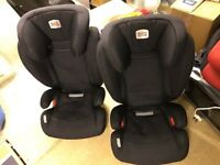 Britax Car Seats for 15-36kg. Isofix with instruction manuals