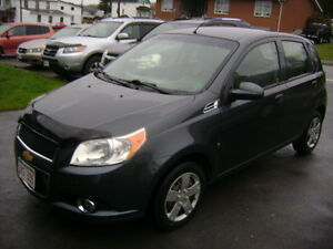 2010 Chevrolet Aveo 5 Hatchback Automatique $3800.00 Tax Inclus