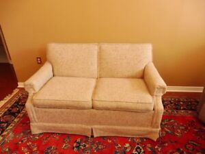 Bed Chesterfield, actually a love seat with bed