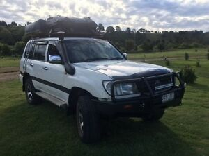 1998 Toyota LandCruiser 105 wagon 4.2 diesel CAMPER Manly Brisbane South East Preview