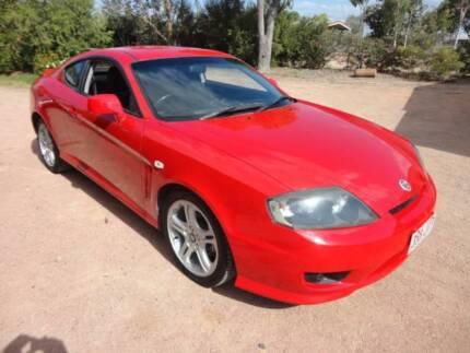 2005 Hyundai Tiburon Coupe 6 Speed RWC-Regd V.G.COND Mysterton Townsville City Preview