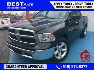 '16 RAM 1500 SLT - APPROVED IN 30 MINUTES! - ANY CREDIT LOANS