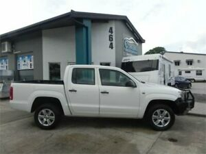 2011 Volkswagen Amarok 2H MY12 TDI400 (4x4) White 6 Speed Manual Dual Cab Utility Earlville Cairns City Preview