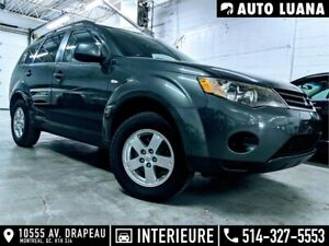 2008 Mitsubishi Outlander 4 CYLINDRES/MAGS/BLUETOOTH/DEMARREUR