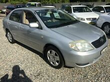 2002 Toyota Corolla ZZE122R Ascent Silver 4 Speed Automatic Sedan Jewells Lake Macquarie Area Preview