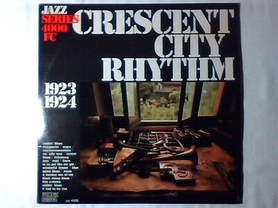 Lp Crescent city rhythms ITALY NEW ORLEANS RHYTHM KINGS JELLY ROLL MORTON