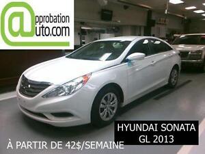 2013 Hyundai Sonata GL, À PARTIR DE 42$/SEMAINE 100% APPROUVÉ