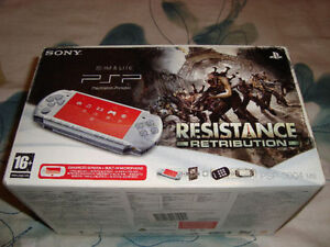 PSP 3000 RESISTANCE RETRIBUTION