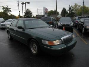 2000 Mercury Grand Marquis LS, leather! keyless!