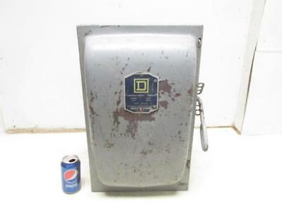 Square D Cat. No. A46354 Safety Disconnect Switch Fusible 200 Amp 240 Volt