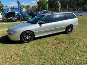 2002 Holden Commodore VX II Executive Silver 4 Speed Automatic Wagon Clontarf Redcliffe Area Preview