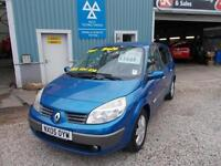 RENAULT GRAND SCENIC 1.6 DYNAMIQUE 16V 5d 116 BHP FAMILY VEHICLE (blue) 2005