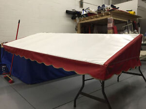 CANVAS AND VINYL AWNING AND TENT REPAIRS - SEWING SERVICES